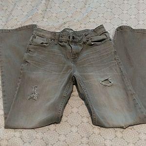 Boys Jeans / size 16 straight cut